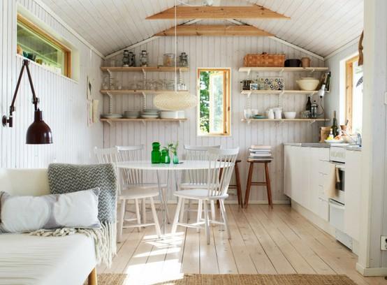 aranżacje, inspiracje, jak urządzić, living room with kichenette, mała powierzchnia, Pomysł na..., salon z aneksem kuchennym, z kuchnią, vardagsrum, kuchnia otwarta, styl skandynawski,