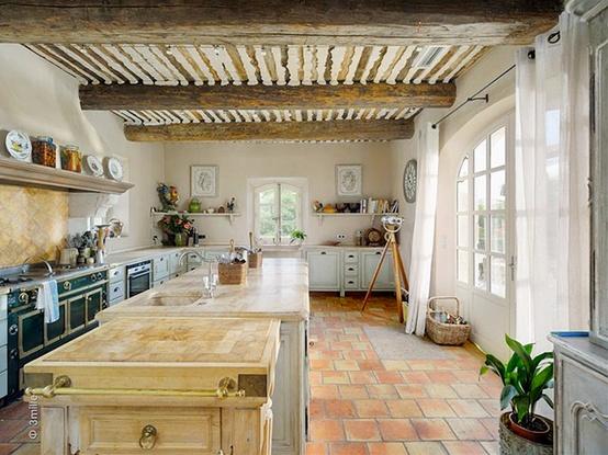 Jak urz dzi kuchni w stylu prowansalskim lovingit French provence style homes
