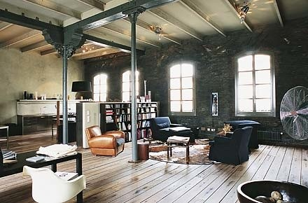 Styl industrialny lovingit Industrial home plans