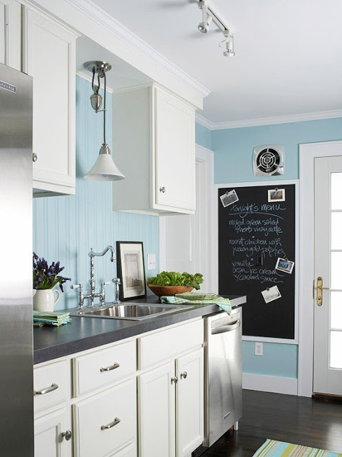 turkus w kuchni