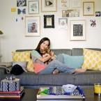 Kolorowe mieszkanie – zdjęcia, czyli wtorkowy tour po pięknych wnętrzach!