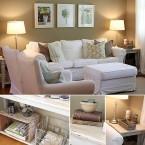 Mieszkanie w beżach i bieli otoczone rodzinną atmosferą, czyli wtorkowy tour po pieknych wnętrzach.