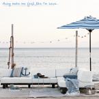 Niebieskie barwy we wnętrzu. Nadmorskie inspiracje z cyklu paleta barw w pięknym wydaniu.