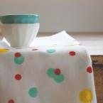 Inspiracja tygodnia: tkaniny w kropki, groszki i kółeczka :)