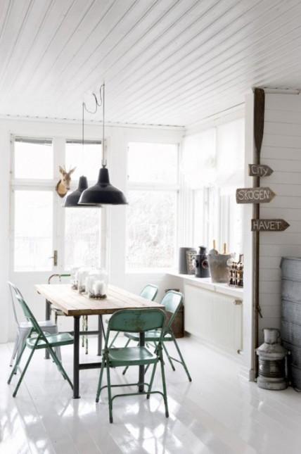 industrialna jadalnia w skandynawskim wydaniu