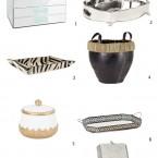 Pomysły na stylowe przechowywanie w domu, czyli tace, pudła i kosze – ZARA HOME 2013