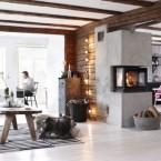 Piękny dom, pełen drewnianych belek i skandynawskich dodatków,czyli poniedziałkowe zakupy on-line