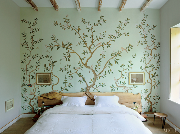 naturalna sypialnia inspiracje