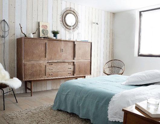 Urocze mieszkanie w skandynawskim stylu z industrialnymi elementami wymarzone skandynawski for Deco slaapkamer chalet