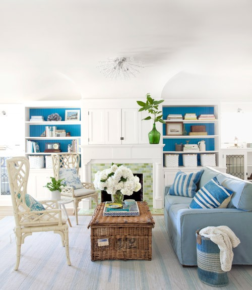 Niebieski Salon Lovingit