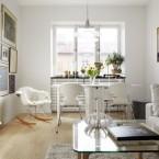Jak pięknie urządzić małe mieszkanie, czyli dwa różne pomysły na powierzchnię 47 m2