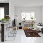 Nowoczesne skandynawskie mieszkanie z elementami klasycznych dodatków,czyli poniedziałkowe zakupy on-line