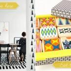 Inspirujące pomysły na dekorację wnętrz – wzory w roli głównej :)