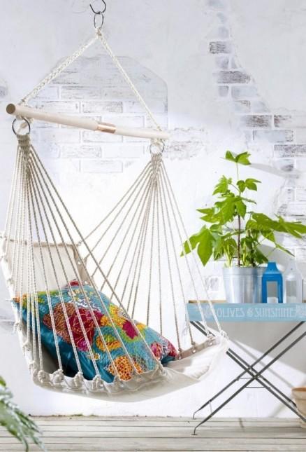 plecione hamaki,wiszące fotele,letnie