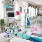 Jak urządzić współczesne, białe mieszkanie w orientalnym stylu, czyli poniedziałkowe, bajeczne zakupy on-line