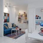 Skandynawskie inspiracje, nowoczesne nawiązania, czyli jak zaaranżować niewielką przestrzeń – małe białe wnętrze :)