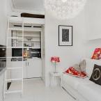 Jak nowocześnie urządzić małe mieszkanie, czyli o pomysłach i  kompromisach na 21 m2 – wtorkowy tour:)