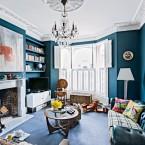 Eklektyczne mieszkanie w aranżacji z nutką glamour ;)
