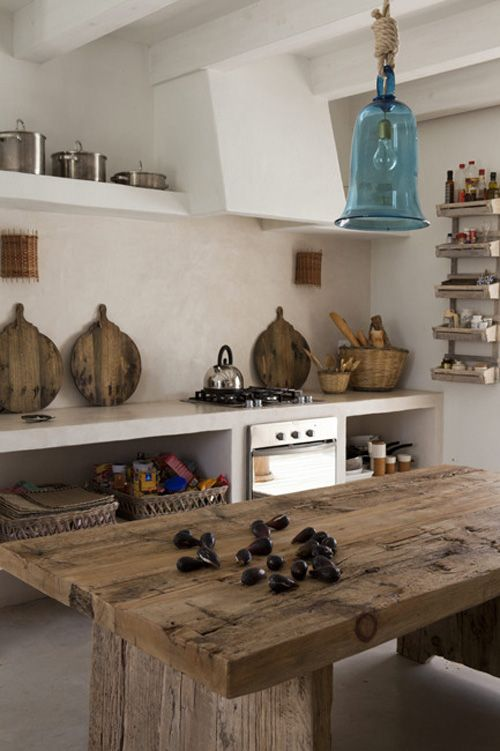 Rustykalne kuchnie aran acje kuchenne kuchnia w stylu for Cuisine wabi sabi