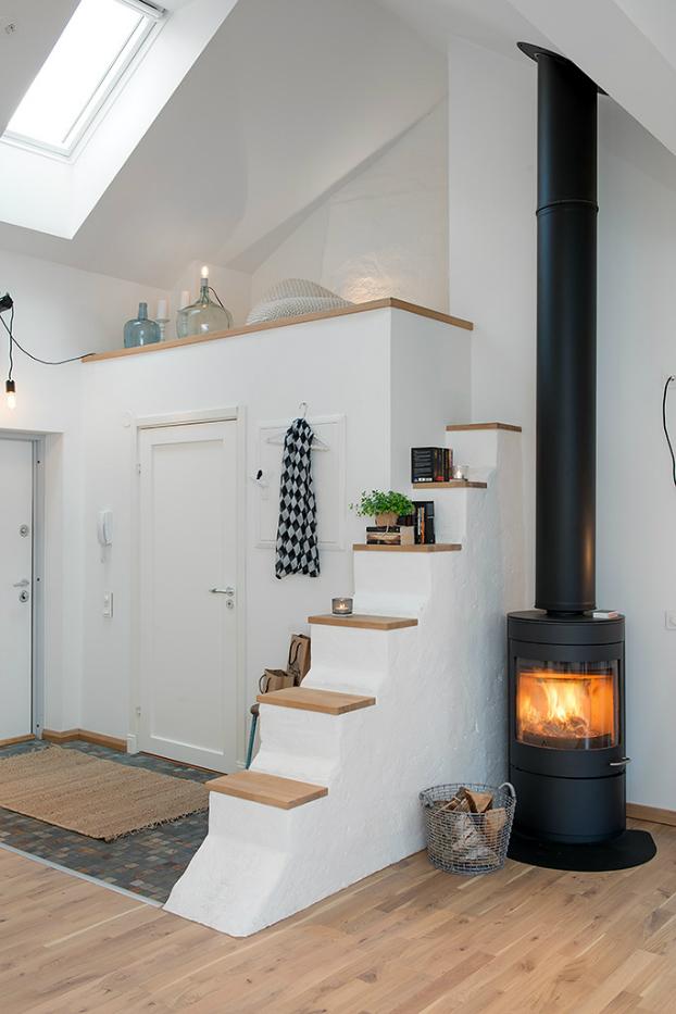 Jak urz dzi mieszkanie w stylu loft lovingit - Poner chimenea en un piso ...