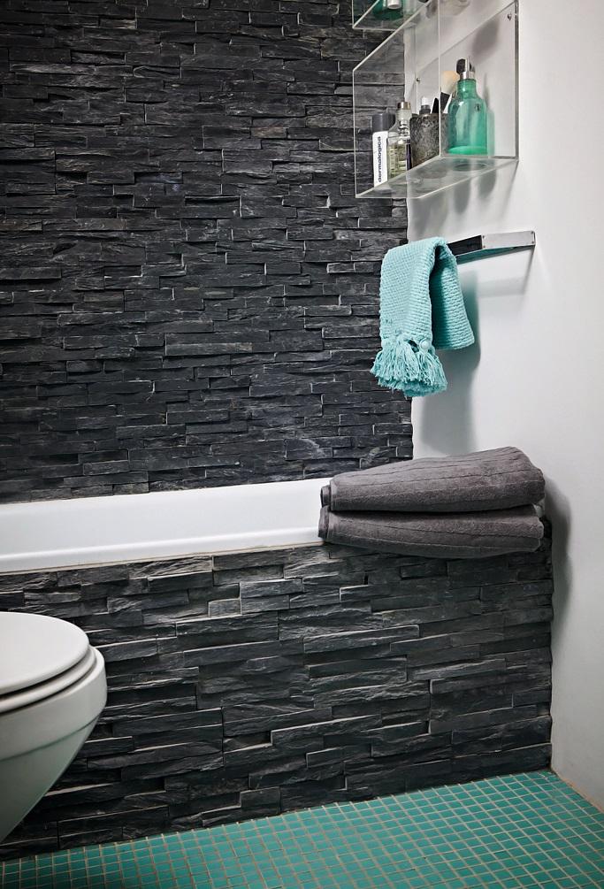 Kamień Dekoracyjny Na ścianie W Salonie Kuchni I łazience