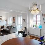 77 m2 elegancji i luksusu, czyli jak zaaranżować mieszkanie w dość prosty, ale niezwykle efektowny sposób :)