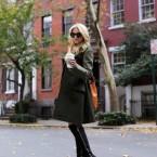 Czekoladowa stylizacja na jesienno-zimowy weekend:)