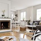 Zachwycająca aranżacja domu z kominkiem, dużym tarasem i boską garderobą! Oraz wieloma innymi ;)