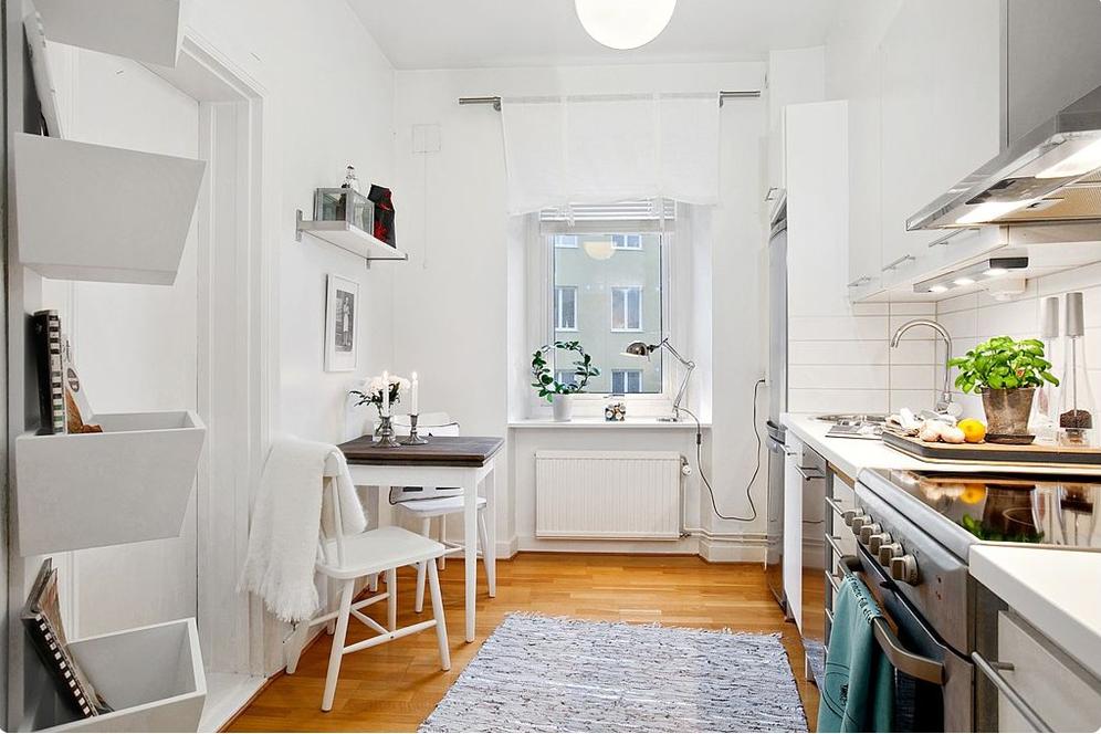 Jak urządzić mieszkanie w kolorach szarości? -> Kuchnia Dodatki Inspiracje