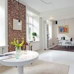 Białe mieszkanie w skandynawskim stylu, w którym detale odgrywają szczególną rolę…