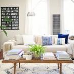 Kolorowa wariacja na temat dekorowania wzorami… czyli małe eklektyczne mieszkanie z nutką stylu etno