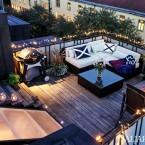 Wyjątkowa aranżacja mieszkania pod skosami z boskim tarasem na dachu!