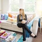 Pełna energii i radości, czyli aranżacja mieszkania idealna dla optymistki :)
