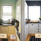 Niesamowita metamorfoza, czyli jak odświeżyć wnętrze – kuchnia przed i po :)
