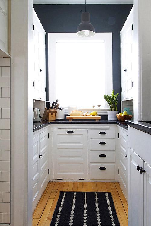 Jak Urządzić Kuchnię Z Garnatowymi ścianami