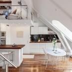 Problematyczne poddasze i 4 zasady jego aranżowania, czyli inspirujące mieszkanie pod skosami