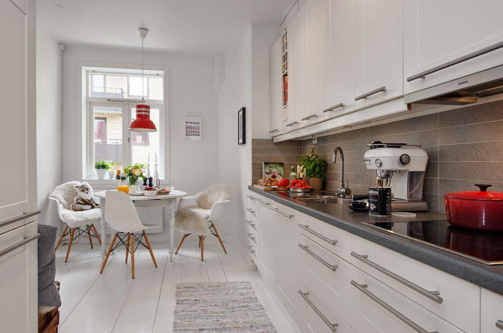 Kuchnia w stylu skandynawskim  Lawendowy Kredens -> Kuchnia W Bloku W Stylu Skandynawskim