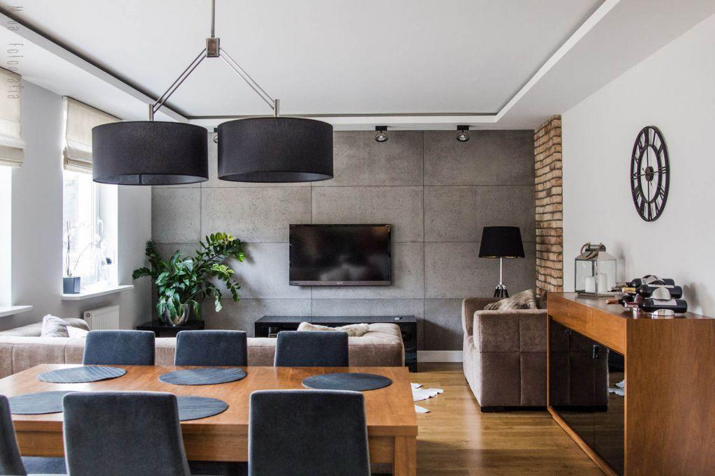 Jak urządzić mieszkanie w stylu nowoczesnym? # Aranżacja Salonu Z Kuchnią W Bloku