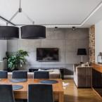 Polskie before & after – aranżacja mieszkania o pow. 80 m2 w nowoczesnym stylu, z dekoracyjnymi ścianami w każdym wnętrzu :)