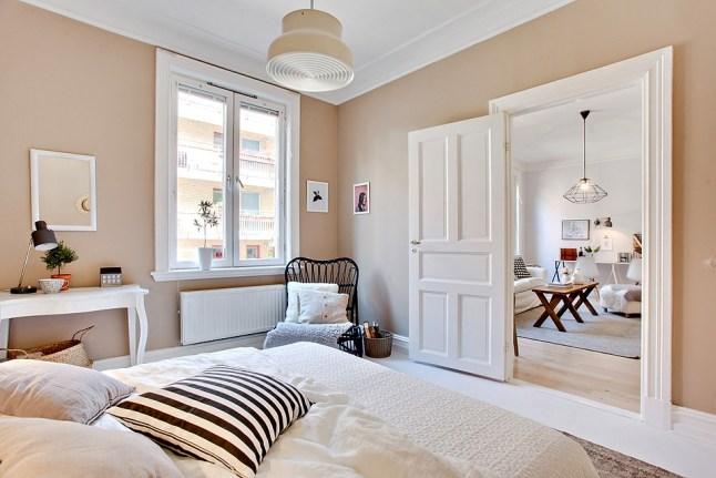 Mieszkanie w stylu skandynawskim blog lovingit - Ouderlijke slaapkamer decoratie ...