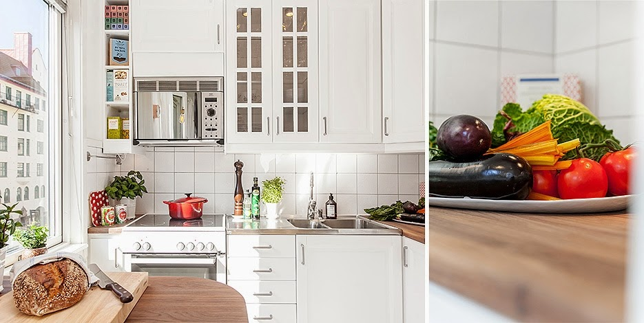 Jak umeblować kuchnię w stylu skandynawskim?  Lovingit -> Kuchnia Elektryczna Amica Retro