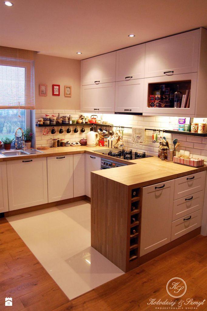 Jak umeblować mieszkanie w styku tradycyjnym? -> Kuchnie W Fiolecie