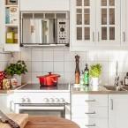 Biała kuchnia jak ze snu:)Czyli kuchenne inspiracje w stylu skandynawskim!
