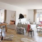 Salonowy mix w otwartej i swobodnej aranżacji wnętrza-zakupy online