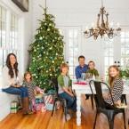 Idealna inspiracja na pogodne Boże Narodzenie, czyli wspaniały rodzinny dom w świątecznym klimacie!