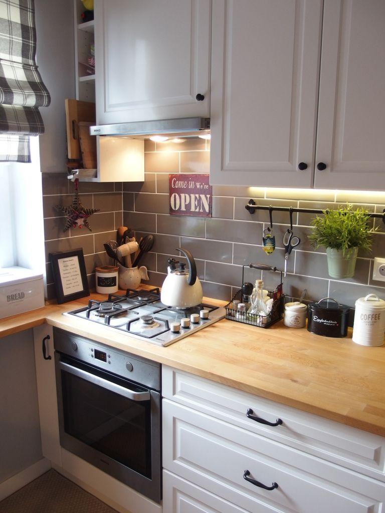 jak wyremontowa� kuchnie i przedpok243j zdjęcia przed i po