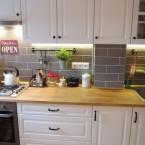 Before & after mieszkania naszej czytelniczki, czyli inspirująca aranżacja kuchni i przedpokoju dla każdego :)