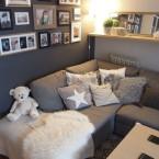 Before &after mieszkania naszej czytelniczki cz.2.! Remontowe inspiracje w salonie, sypialni i łazience :)