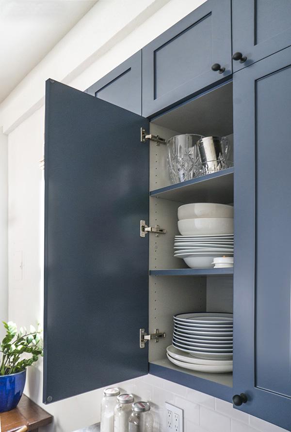 Jak urządzić kuchnie w niebieskim kolorze?  Lovingit -> Niebieska Kuchnia Inspiracje