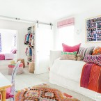 pokój dla córki z garderobą
